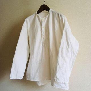 マルタンマルジェラ(Maison Martin Margiela)のロシア軍 スリーピングシャツ 50-2 ホワイト 旧ソ連軍(シャツ)
