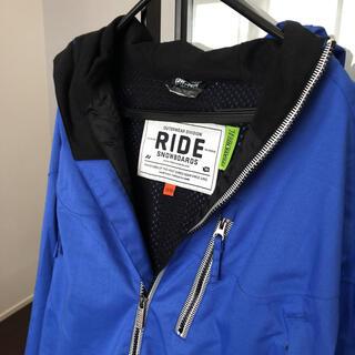 ライド(RIDE)のスノーボード ウェア ブルー 青 ride スノボ(ウエア/装備)