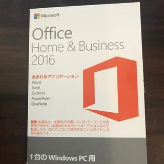 マイクロソフト(Microsoft)のOffice Home & Business 2016(PCゲームソフト)
