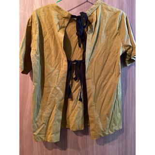 マルニ(Marni)の新品未使用 MARNI  バックリボンTシャツ(Tシャツ(半袖/袖なし))