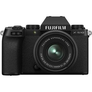 フジフイルム(富士フイルム)の新品 未開封 FUJIFILM X-S10 XC15-45mm ブラック(ミラーレス一眼)