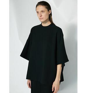 エンフォルド(ENFOLD)の美品 ENFOLD エンフォルド Twill Big Tシャツ(Tシャツ(半袖/袖なし))