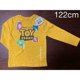 ディズニー(Disney)の日本未発売 ディズニー トイストーリー 長袖Tシャツ 黄 110cm(Tシャツ/カットソー)