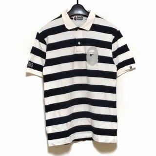 アベイシングエイプ(A BATHING APE)のア ベイシング エイプ 半袖ポロシャツ M -(ポロシャツ)