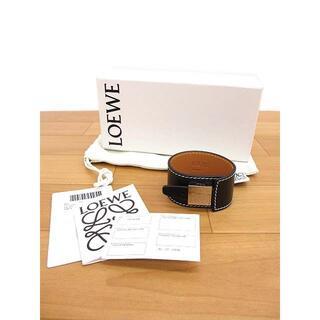 ロエベ(LOEWE)の極美品 LOEWE ロエベ 110.10.024 カーフスキン ブレスレット(ブレスレット/バングル)