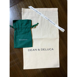 ディーンアンドデルーカ(DEAN & DELUCA)のディーン&デルーカ ラッピング袋と巾着(ショップ袋)