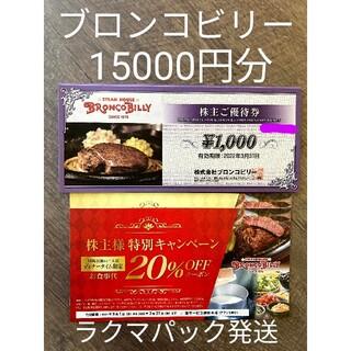 ブロンコビリー 株主優待(レストラン/食事券)