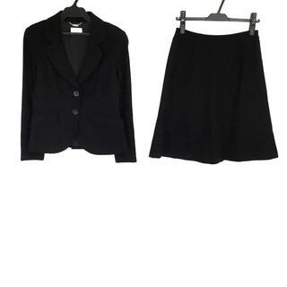 ハロッズ(Harrods)のハロッズ スカートスーツ サイズ2 M - 黒(スーツ)