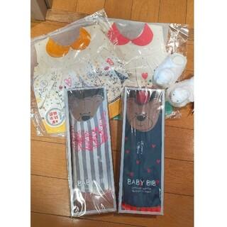 ジェラートピケ(gelato pique)の ジェラートピケ 靴下 (ベビースタイ/よだれかけ)