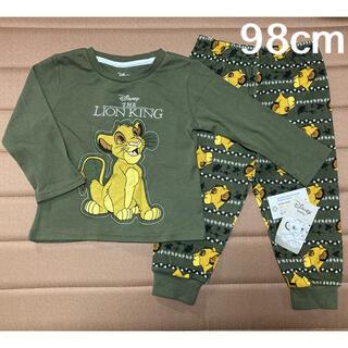 ディズニー(Disney)の日本未発売 ディズニー ライオンキング 長袖セットアップ 98cm(Tシャツ/カットソー)