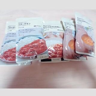 ムジルシリョウヒン(MUJI (無印良品))の無印良品 カレー5つセット レトルト(レトルト食品)