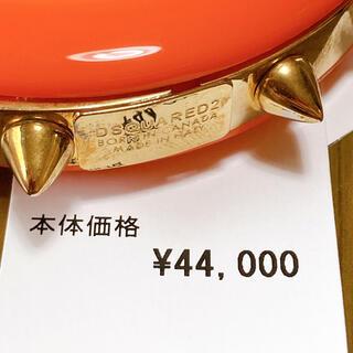 ディースクエアード(DSQUARED2)の定価45000円↑ 新品タグ付 ディースクエアード ゴールドスタッズブレスレット(ブレスレット/バングル)