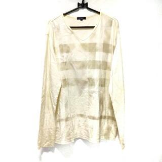 バーバリー(BURBERRY)のバーバリーロンドン 長袖Tシャツ サイズL -(Tシャツ/カットソー(七分/長袖))