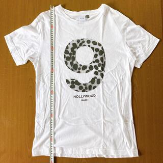 ハリウッドメイド(HOLLYWOOD MADE)のハリウッドメイド ダルメシアン柄ナンバーナインカットソー サイズS(Tシャツ/カットソー(半袖/袖なし))