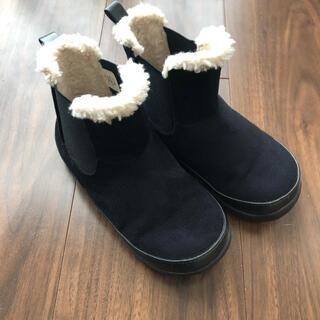 ムジルシリョウヒン(MUJI (無印良品))の無印 サイドゴアブーツ ムートンブーツ ショートブーツ 16 17㎝(ブーツ)