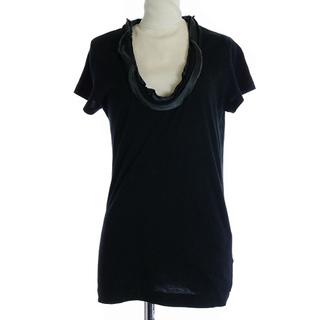 サカイラック(sacai luck)のサカイラック Tシャツ カットソー 切替 半袖 1 S 黒6(Tシャツ(半袖/袖なし))
