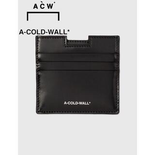 オフホワイト(OFF-WHITE)のA-COLD-WALL* シート カードホルダー(名刺入れ/定期入れ)