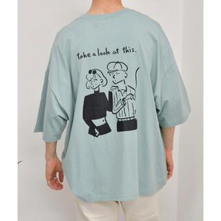 kutir Tシャツ ライトブルー(Tシャツ/カットソー(半袖/袖なし))