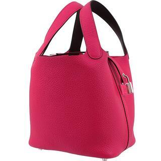 エルメス(Hermes)のHERMES ハンドバッグ レディース 新品 ピンク ピコタンPM 3100(ハンドバッグ)