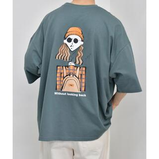 kutir Tシャツ ダークグリーン トレンド(Tシャツ/カットソー(半袖/袖なし))