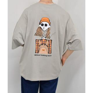 kutir Tシャツ ベージュ オレンジ(Tシャツ/カットソー(半袖/袖なし))