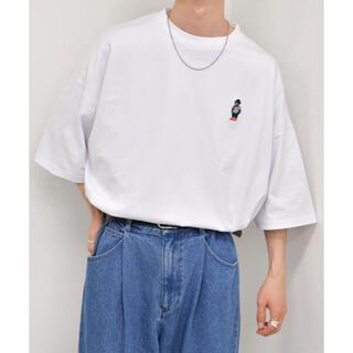 kutir Tシャツ ホワイト くまさん(Tシャツ/カットソー(半袖/袖なし))