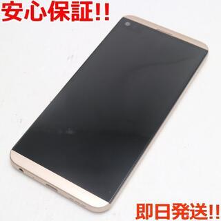 LG Electronics - 新品同様 au LGV34 isai Beat ゴールド