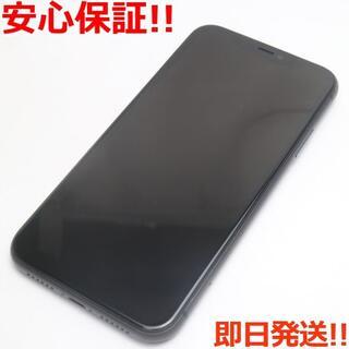 アイフォーン(iPhone)の美品 SIMフリー iPhone 11 64GB ブラック (スマートフォン本体)