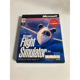 マイクロソフト(Microsoft)のマイクロソフト フライトシミュレータ(PCゲームソフト)