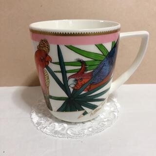シセイドウ(SHISEIDO (資生堂))の資生堂 楽園 鳥 マグカップ 非売品 昭和レトロ ビンテージ 未使用(食器)