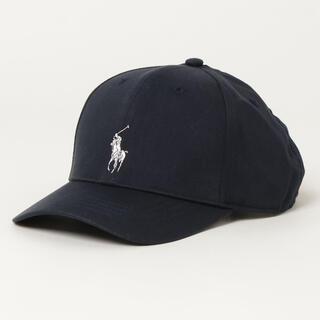 ポロラルフローレン(POLO RALPH LAUREN)の【新品未使用/タグ付き】polo pony コットンブレンド ボール キャップ(帽子)