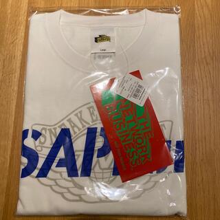 シュプリーム(Supreme)の【新品】SAPEur week2 白青Tシャツ(Tシャツ/カットソー(半袖/袖なし))