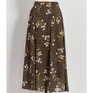 ノエラ(Noela)の新品未使用⭐️ ノエラ シャドーフラワーSK スカート(ロングスカート)