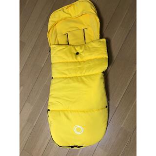 AIRBUGGY - バガブー bugaboo フットマフ 黄色 イエロー