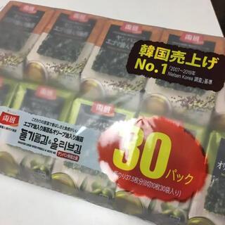 コストコ(コストコ)の韓国のり ヤンバン コストコ 30袋 朝食 お弁当 夕食 おやつ(乾物)