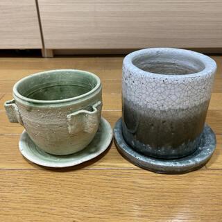 陶器製 植木鉢 セット(プランター)