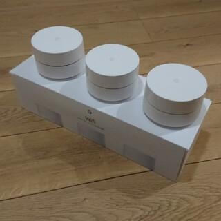 グーグル(Google)のGA00158-JP Google Wi-Fi 3台パック(PC周辺機器)