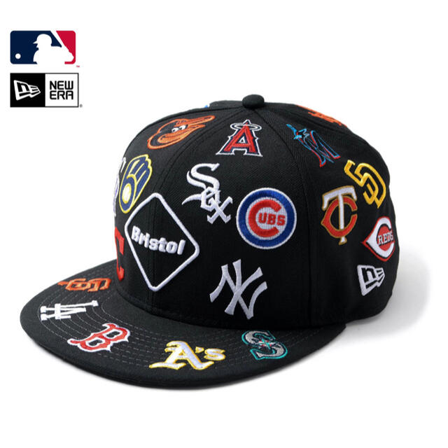 F.C.R.B.(エフシーアールビー)のNEW ERA MLB TOUR ALL TEAM 9FIFTY CAP メンズの帽子(キャップ)の商品写真