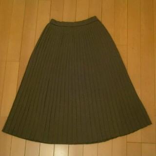 ロキエ(Lochie)のニットプリーツスカート(ひざ丈スカート)
