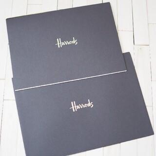 非売品 ハロッズ グリーティングカード(印刷物)