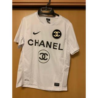 CHANEL NIKE Tシャツ ナイキ シャネル COCO5(Tシャツ/カットソー(半袖/袖なし))