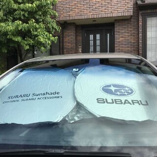 スバル(スバル)のSUBARU スバルロゴ フロントガラス用 カーサンシェード (車内アクセサリ)