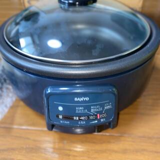 サンヨー(SANYO)のSANYOクックプレートHPS-7H(ホットプレート)
