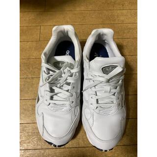 アディダス(adidas)の美中古品 adidas レディース スニーカー 25cm ホワイト(スニーカー)