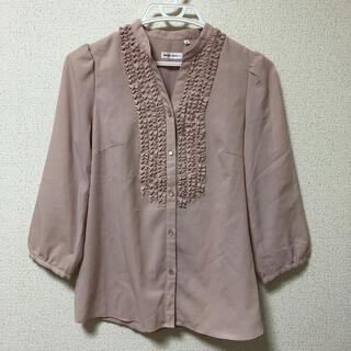 スーツカンパニー(THE SUIT COMPANY)のスーツカンパニー  フリルシャツ  サイズ38(シャツ/ブラウス(長袖/七分))