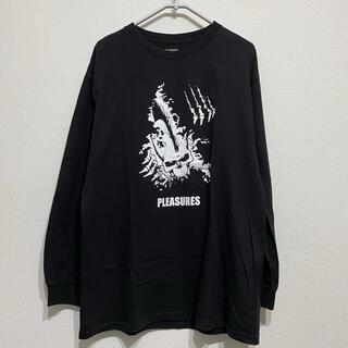 XLARGE - PLEASURES×エクストララージ GERMS 長袖Tシャツ ジャームス