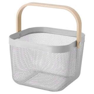 IKEA - IKEA  RISATORP リーサトルプ バスケット グレー