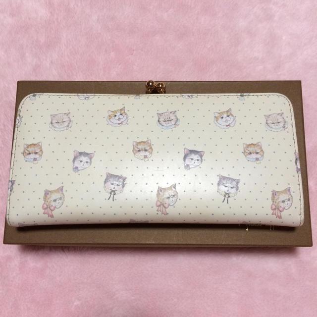 franche lippee(フランシュリッペ)のぶすねこ 長財布 財布 ブスねこ 猫 レディースのファッション小物(財布)の商品写真