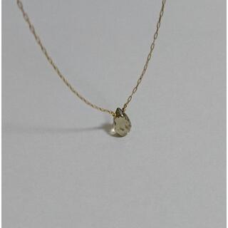 カオル(KAORU)の美品 カオル KAORU ポロリン ネックレス K18 レモンクォーツ(ネックレス)