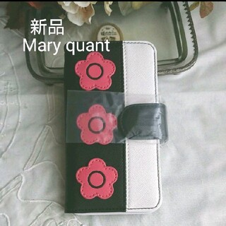 マリークワント(MARY QUANT)の新品 マリークワント  iPhone X XS ス 手帳型スマホケース (iPhoneケース)
